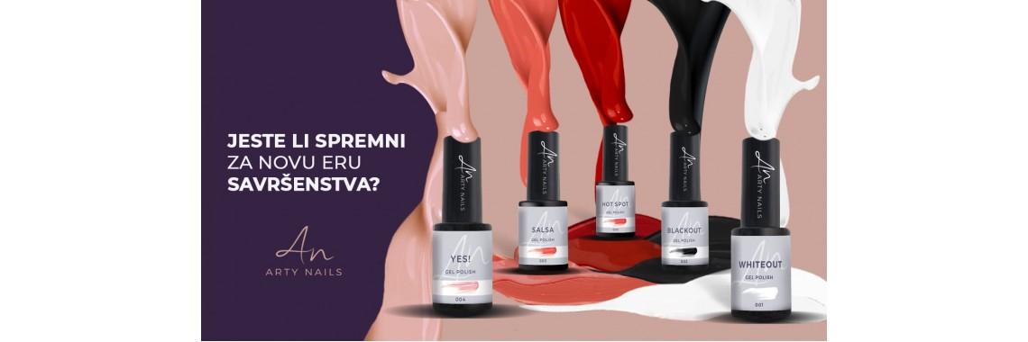 Arty Nails gel polish