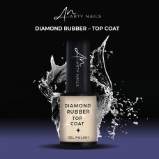 ARTY NAILS DIAMOND RUBBER TOP COAT 5ML