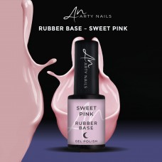 ARTY NAILS SWEET PINK RUBBER BASE 5ML