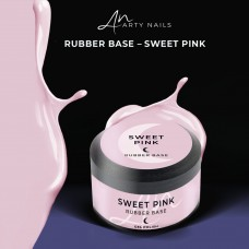 ARTY NAILS SWEET PINK RUBBER BASE 30 ML