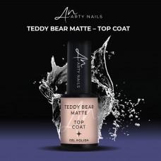ARTY NAILS TEDDY BEAR MATTE TOP COAT 5ML