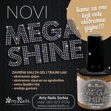 ARTY NAILS MEGA SHINE 15ML