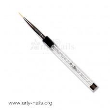 ARTY NAILS WHITE CRYSTAL LINER - duža dlaka